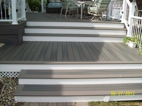 Fiberon Grey Birch Decking Beachdesign Composite Decks