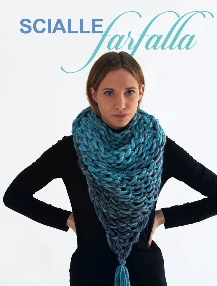 arm knitting shawl