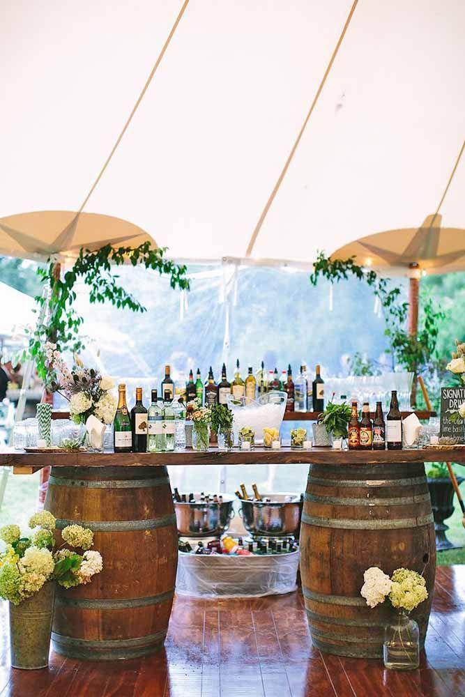 DIY Wedding Cocktail Bar Guide Andamp; How To ❤ See more: http://www.weddingforward.com/diy-wedding-cocktail-bar-guide-how-to/ #wedding #bride