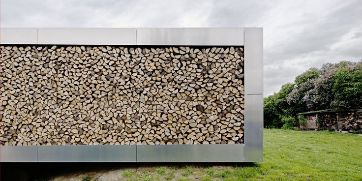 Modern fire wood storage: Modern, Flags, Architecture, Wood Wall, Photo, Woods, House Addition