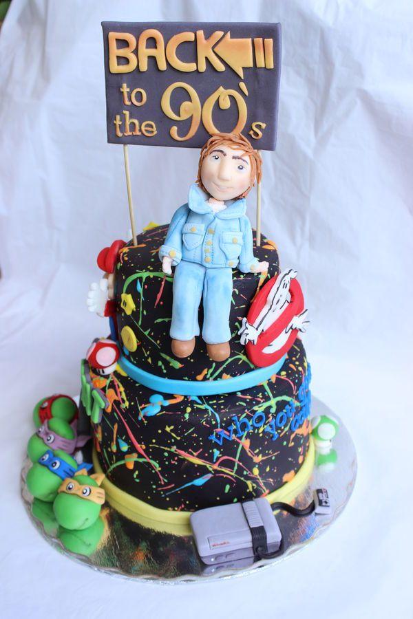 S Retro Cake
