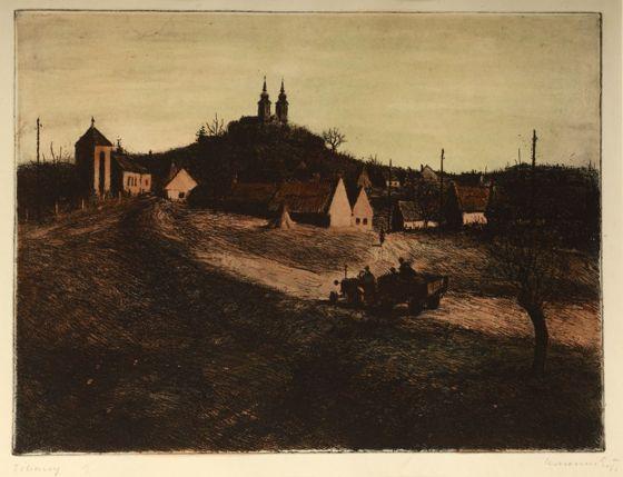 Konecsni György: Tihany, 1950-es évek - Pintér Aukciósház