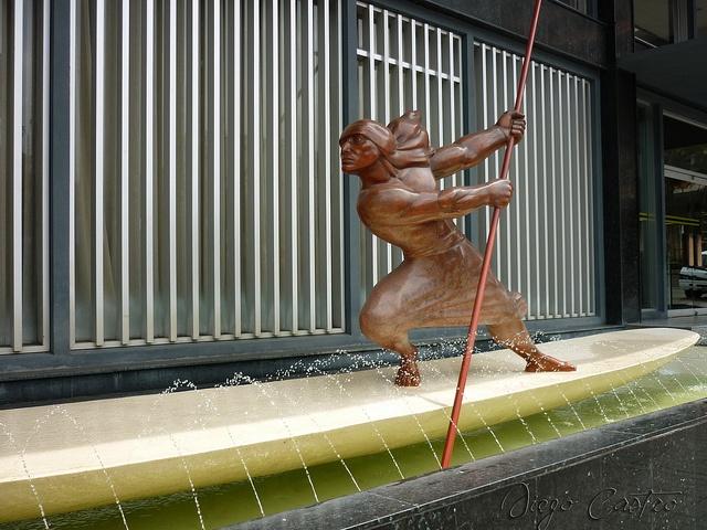 Estatua Indio Pijao Ibague by DACO82, via Flickr