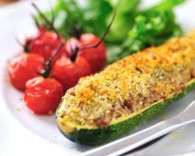 Dégustez notre plat minceur: Les courgettes farcies allégées! Bon appétit http://ow.ly/DvPop