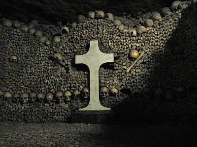 I'd love to spend about a month exploring the Parisian catacombs... Perhaps spend the rest of my life there, in exile. Like James Baldwin...