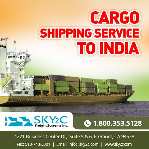 #Cargo #Shipping service provider in India and USA.