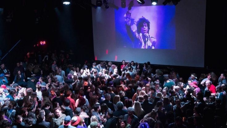 """The country lit up purple in the wake of Prince's death. From massive dance parties in Minneapolis and Brooklyn to """"Hamilton's"""" rendition of """"Purple Rain,"""" fans nationwide celebrated Prince's life on April 21 and 22."""