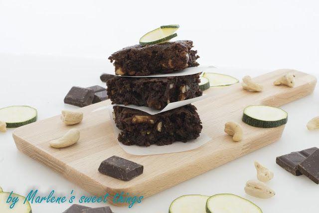 Zucchini-Schokoladen-Brownies von Marlene