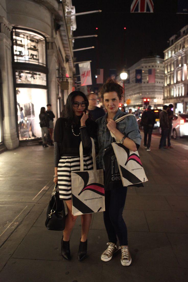 #RegentStreet shoppers enjoy #FNO.