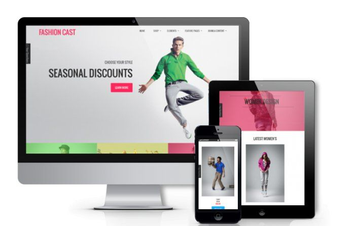 Fashion Cast - responsive #Joomla 3 #VirtueMart #template for apparel clothes stores or #fashion e-commerce websites.