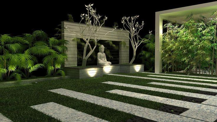 outdoor lighting and garden design