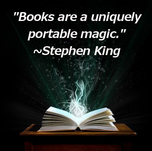 I love this quote by Stephen King : )
