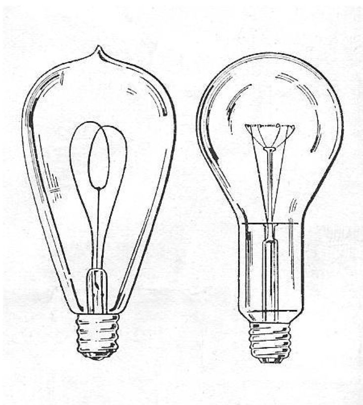 vintage light bulb drawing - Google Search