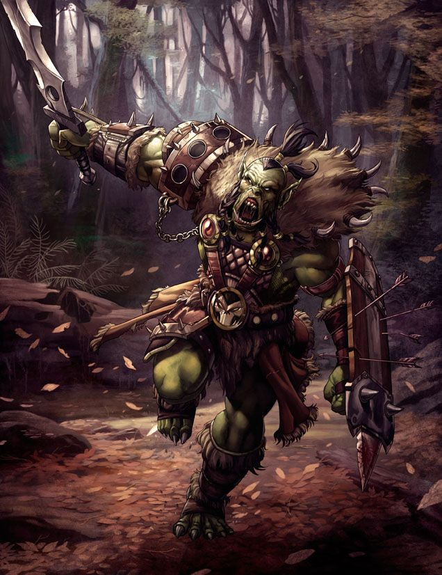 Savage Orc by kikicianjur on deviantART