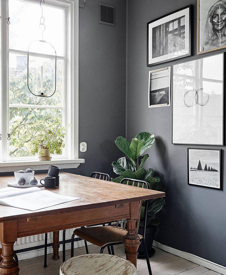 Kitchen in grey - via Coco Lapine Design