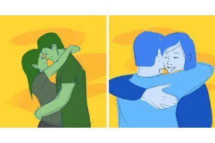 Что могут рассказать объятия о ваших отношениях