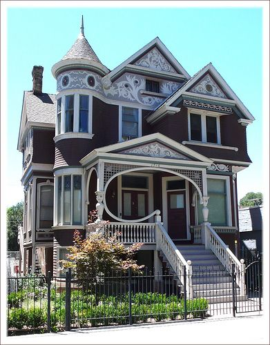 Ornate, beautiful Victorian Sacramento