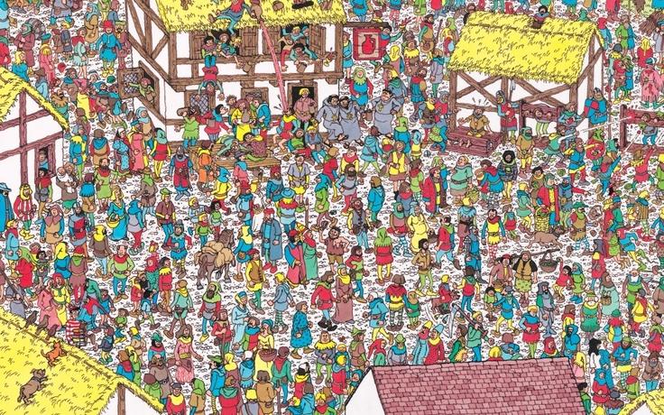 Keep Looking! Where's Wally?