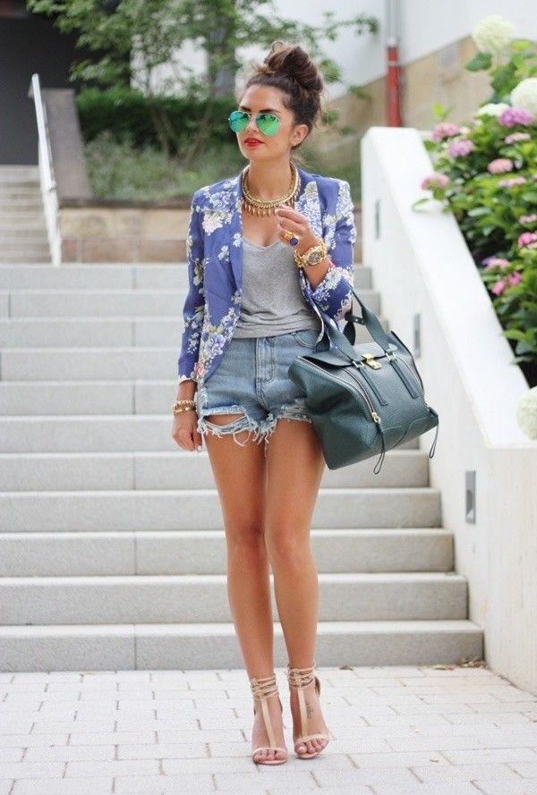 Summer denim jackets – Modern fashion jacket photo blog