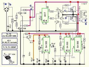 Let's try to work out the proposed500VA Pure Sine Wave inverter circuit layout elaborately with the following facts:IC2 and IC3 are in particular designed in the form of the PWM generator step. IC2 shapes the high frequency generator essential for the switching the PWM waveform which happens to be treated by IC3.