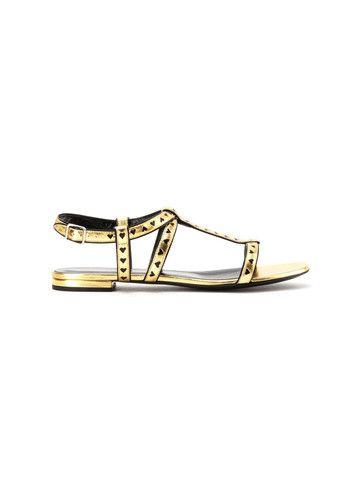 Saint Laurent tacco basso nappa womaen sandals - LuxuryProductsOnline