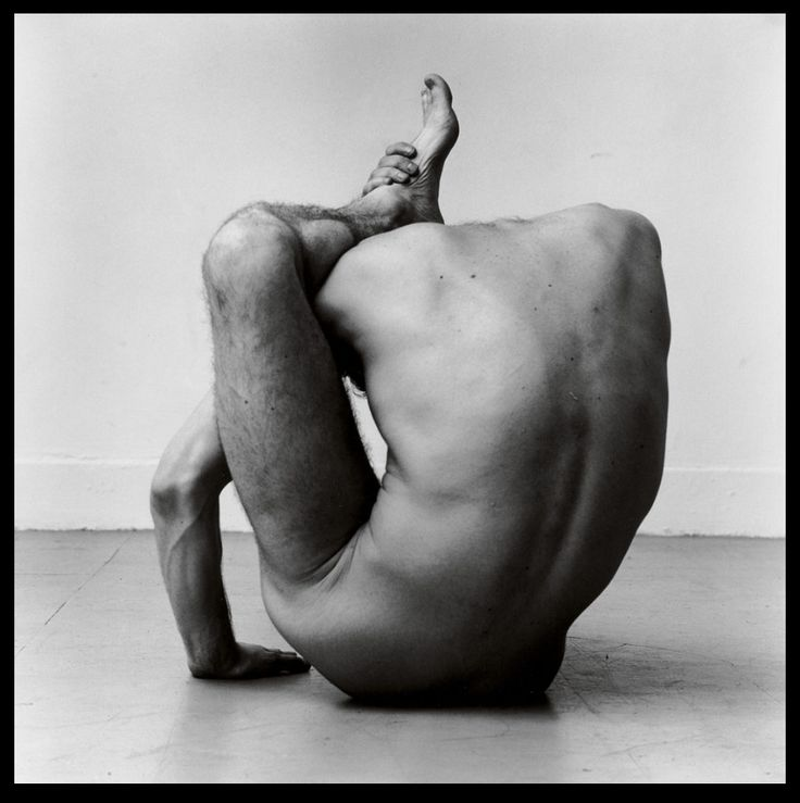 Peter Hujar (American 1934-1987) Gary in Contortion (1979)