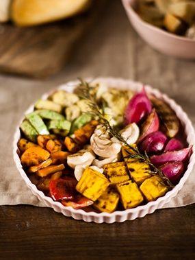 Legumes grelhados para fondue. Ideia que é sucesso: fondue de queijo + legumes…