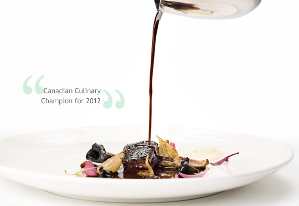 Chef Marc Lepine of Atelier Restaurant, Ottawa, is the Canadian Culinary Champion for 2012!