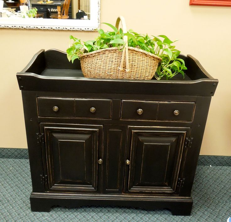 Kitchen Island Made From Antique Dry Sink