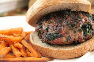 Mix and Match Mama: Dinner Tonight: Spinach Burgers