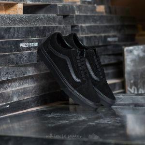 Vans Old Skool (Suede) Black/ Black/ Black