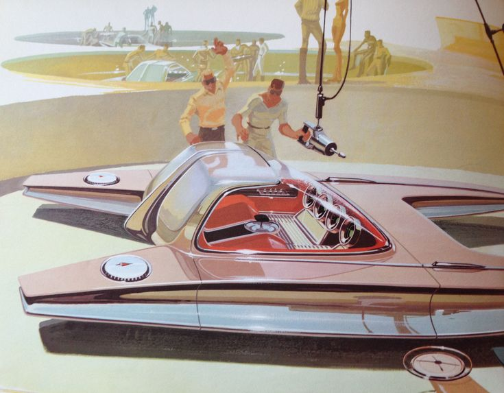 Syd Mead - U.S. Steel Concepts