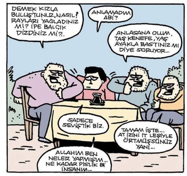 Dolaylı Anlatım Karikatürü Özer Aydoğan | Karikatürname