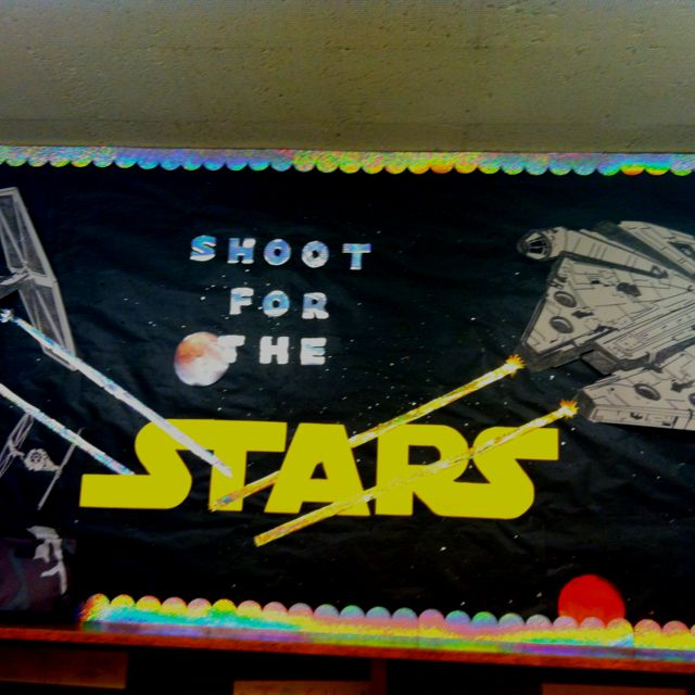Star wars bulletin board!