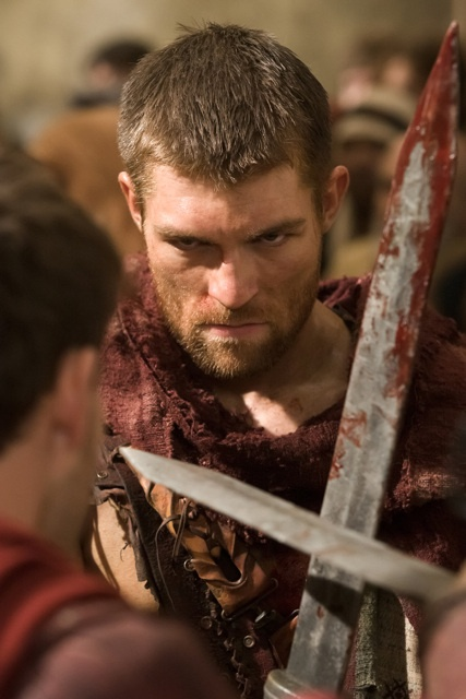 Watch the 'Spartacus: Vengeance' opening scene from the first episode