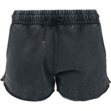 Ladies Acid Wash Terry Hotpants