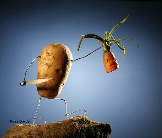 Persius Potato by Terry Border