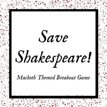 Save Shakespeare! Macbeth Breakout Game