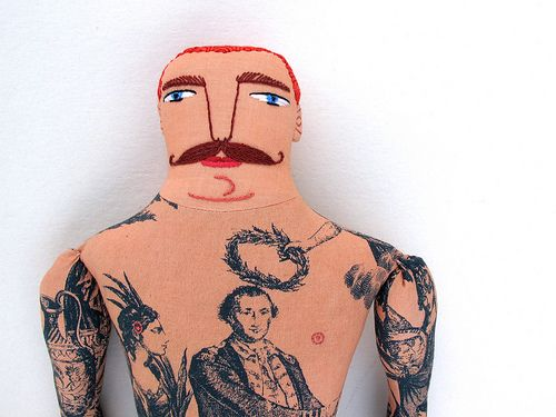 red-haired tattoo man