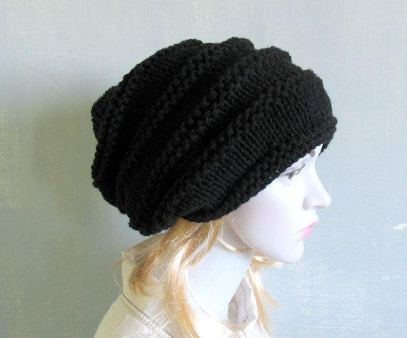 Womens Hat Slouchy Hat Slouchy Women Hat Slouch Beanie by vintachi