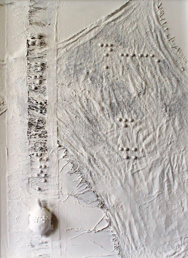 """""""Esplorazione orizzontale"""", opera di Maria Grazia Tuveri."""
