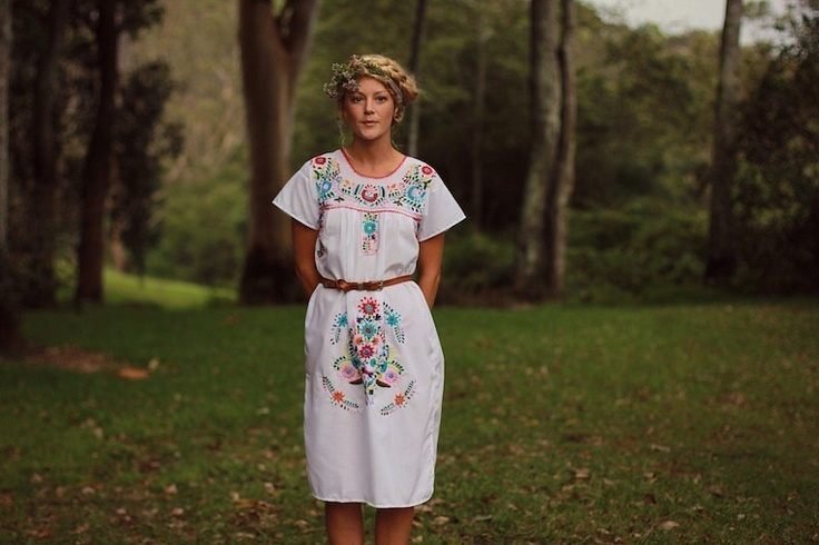 AMAZING!!!!    Hand made of 100% cotton and hand embroidered these are the perfect dress for summer and joy!