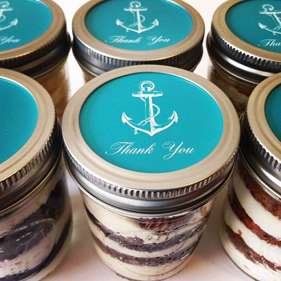 4- 8oz Cupcakes In A Jar- Thank you  (4oz jars are available upon request)    These delicious cupcakes in a jar make the perfect treat! Each