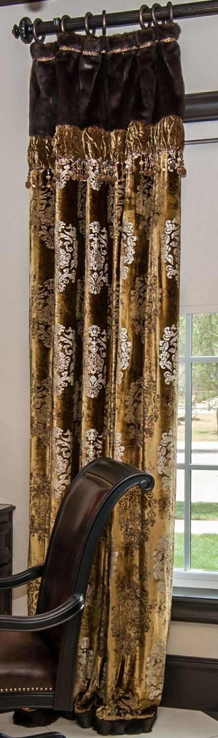 Draperies high end luxury draperies by reilly chance for High end window blinds
