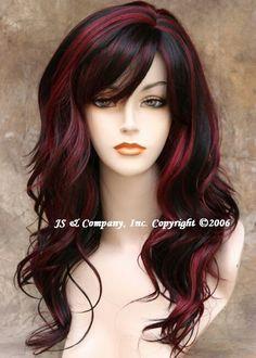 carmel red highlights | ... hair highlights hair color ideas hairstyl brown hair red highlights