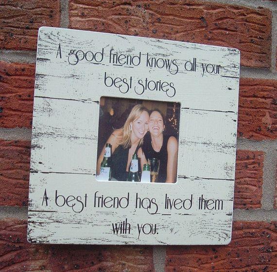 Best Friends picture frame good friend best friend photo frame ...