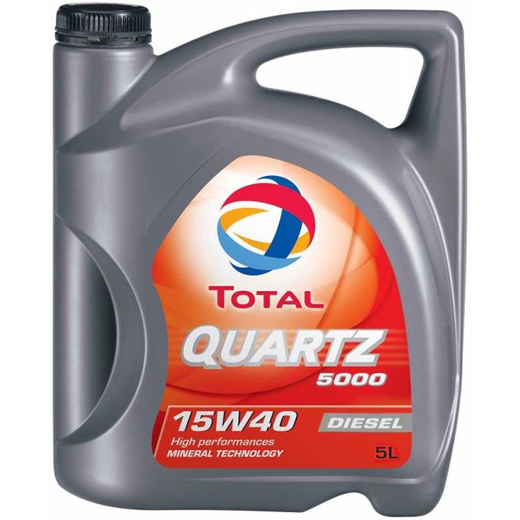 TOTAL QUARTZ 5000 DIESEL 15W40 5L - Моторни масла Boost