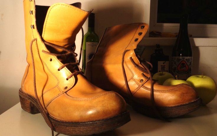 MoMa york burneys boots trippen chukka diesel free people boho rrp $200 vintage | eBay