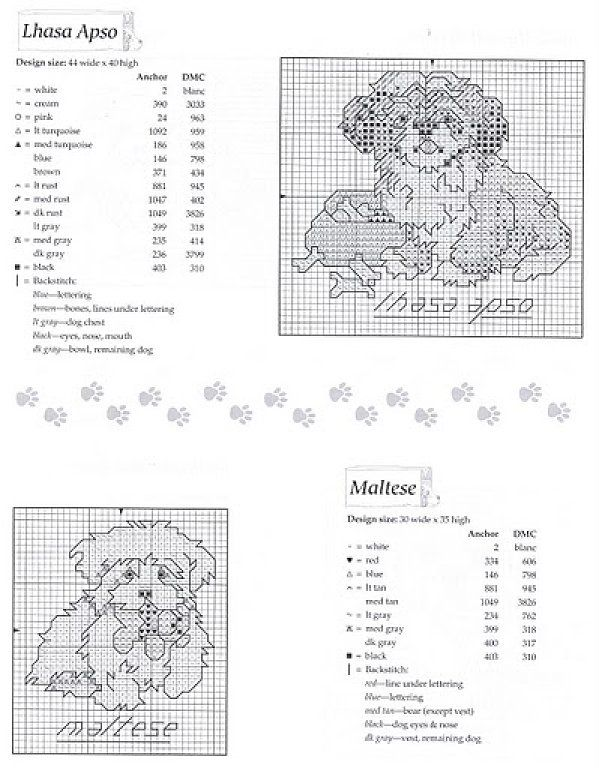 81 best Counted Cross Stitch - Shih Tzus images on Pinterest   Punto ...