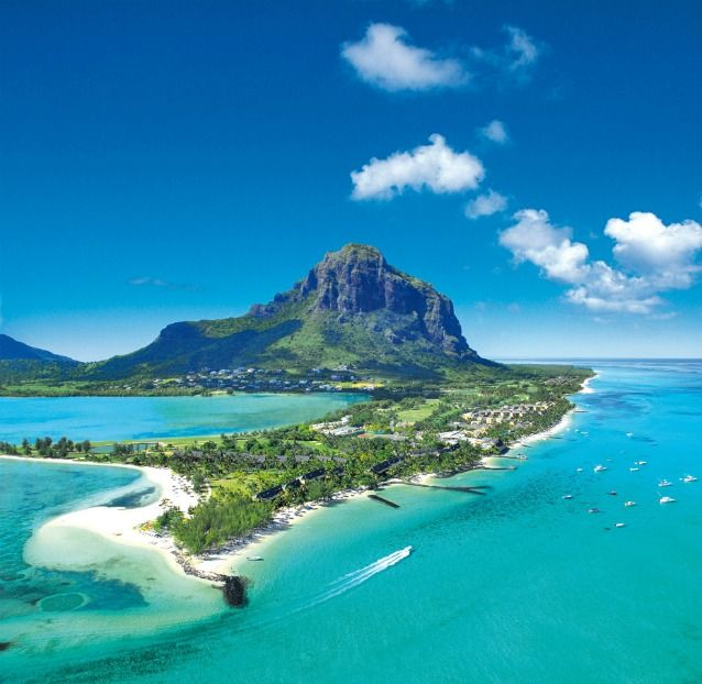 Mauritius: an Island off of the African Continent, east of Madagascar, in the Indian ocean.